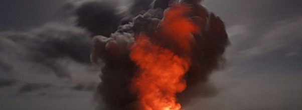 Positive and negative impact of volcanic eruptions