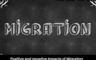 Positive and negative impacts of Migration