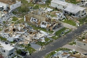 Positive and negative impact of natural disasters