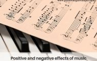 Positive and negative effects of music