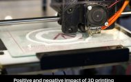 Positive and negative impact of 3D printing