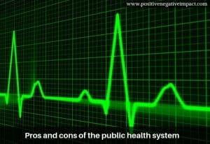 Pros and cons of the public health system
