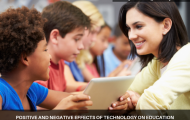 Positive and negative effects of technology on education