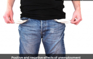 Positive and negative effects of unemployment