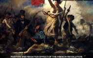 Positive and negative effect of the French Revolution