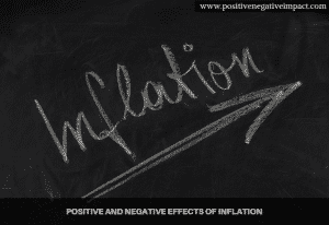 Positive and negative effects of inflation