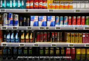 Positive negative effects of energy drinks