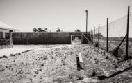 The prison on Robben Island