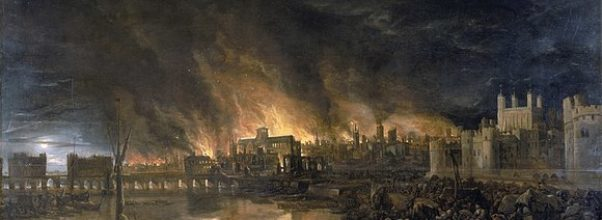 Image of the Great Fire of London