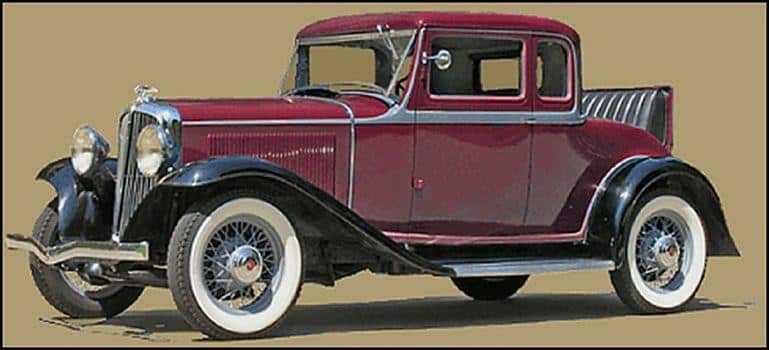 The 1932 Studebaker Rockne