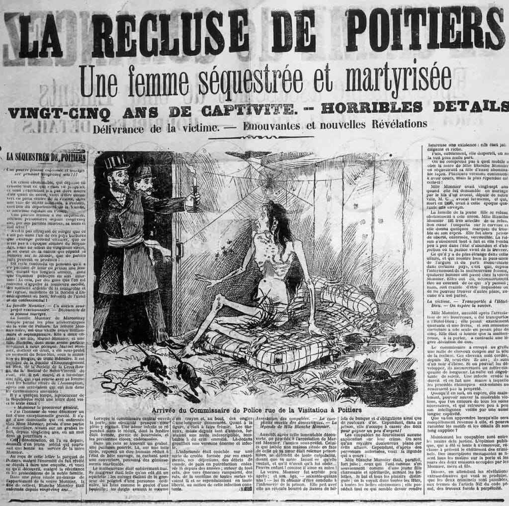 A French newspaper of the day
